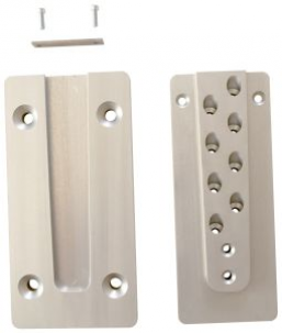 Pack of 10 5//8 x 3-5//32 Steel Weld-On Hinge Without Holes and 240.0 lb Load Capacity